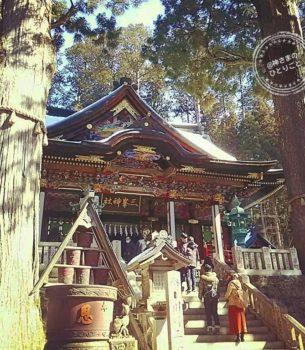 狼が護る秩父のパワースポット三峯神社